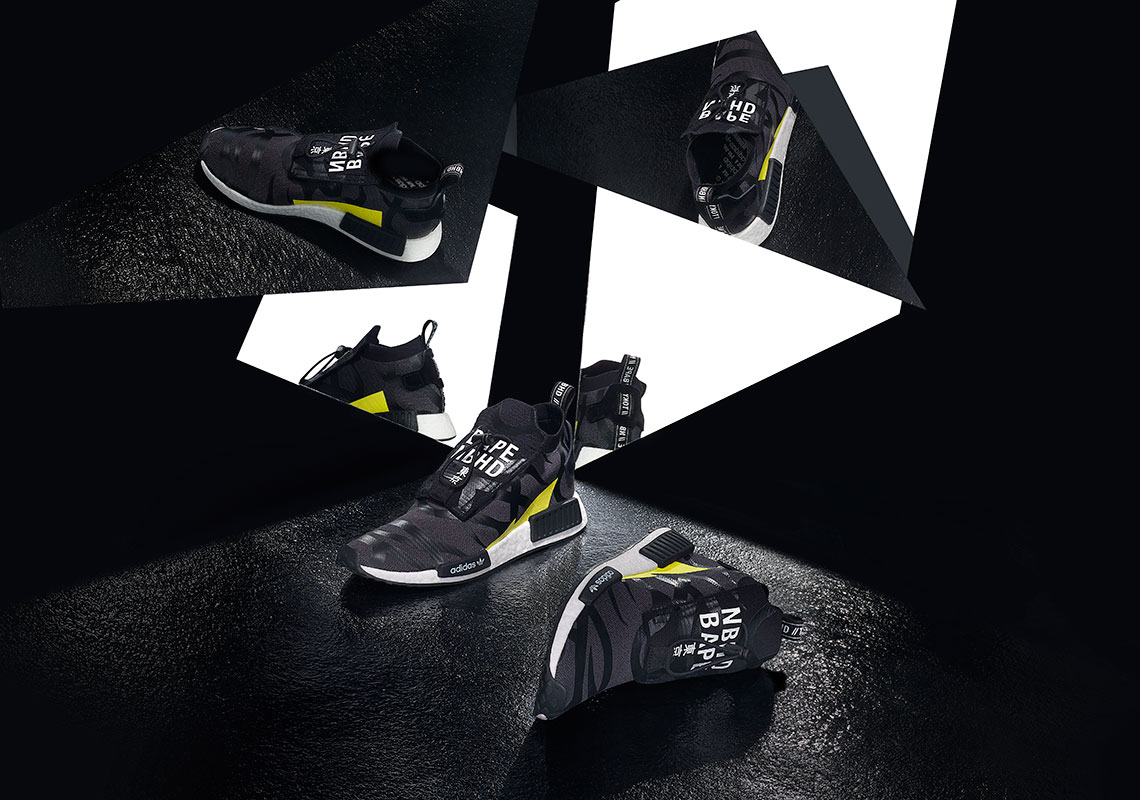 4d62fccfb080 BAPE NEIGHBORHOOD adidas NMD STLT POD Release Info