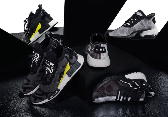 BAPE, NEIGHBORHOOD, And adidas To Release Three-way Collaboration On April 19th