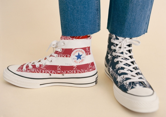"JW Anderson Introduces A Converse Chuck 70 ""Americana"""