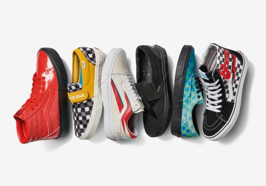 The David Bowie x Vans Collection Is Set To Release On April 5th