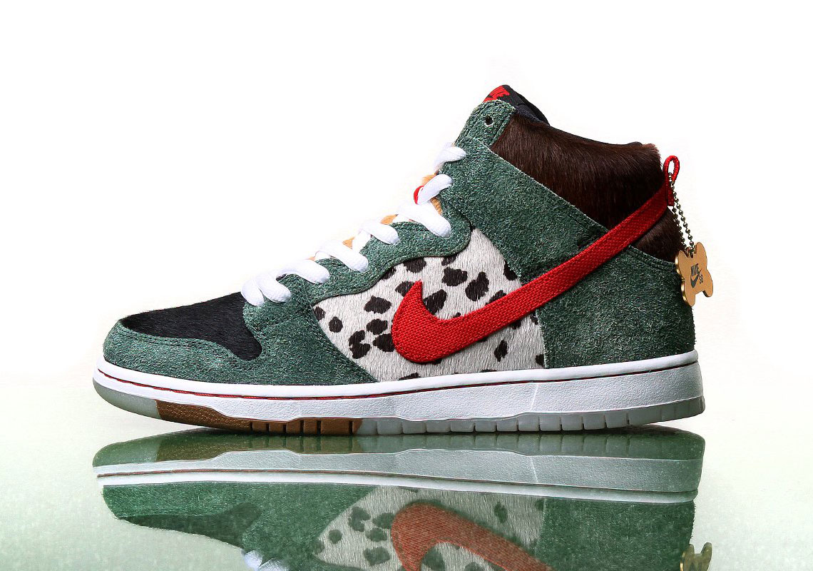 "buy online f76d0 de9d6 Where To Buy The Nike SB Dunk High ""Dog Walker"""