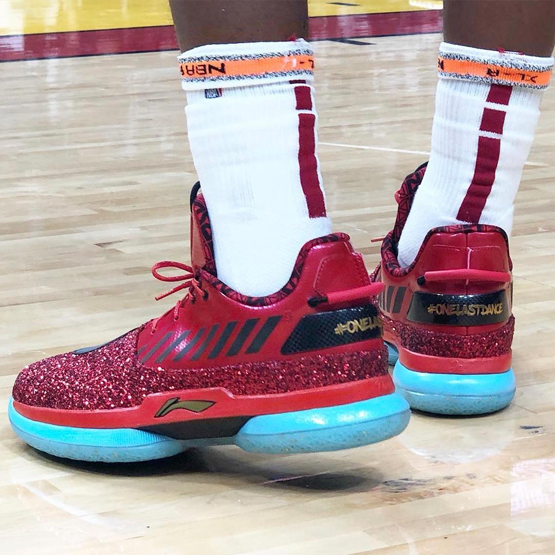 Dwyane Wade Final NBA Game Shoes One