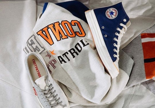 Footpatrol Paris Reveals Upcoming Converse Collaboration Inspired By Collegiate Sportswear