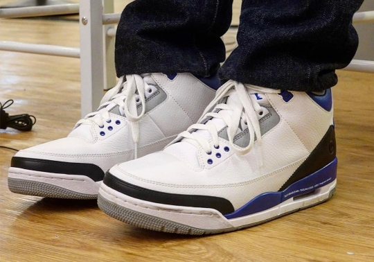 First Look At The fragment design x Air Jordan 3