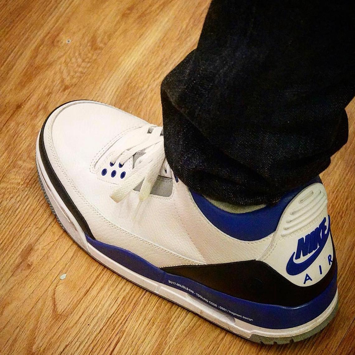 8f92cb192ae Fragment Design Air Jordan 3 Release Info | SneakerNews.com
