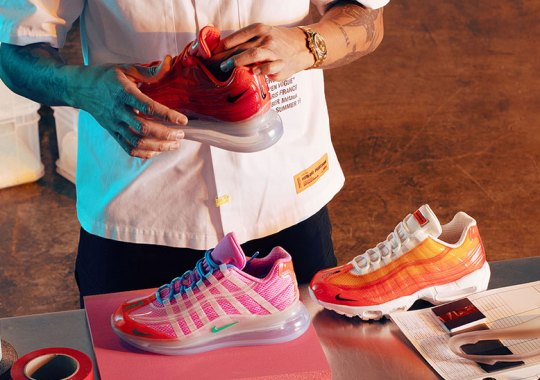 Up Close With Heron Preston's Nike By You Air Max 720/95 Design Options