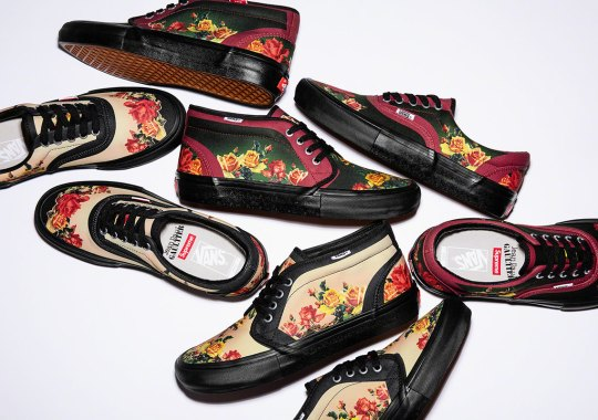 Supreme's Collaboration With French Designer Jean Paul Gaultier Includes Vans Footwear