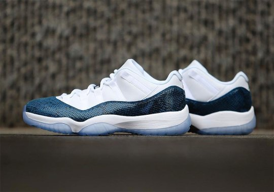 "Where To Buy The Air Jordan 11 Low ""Snakeskin"""