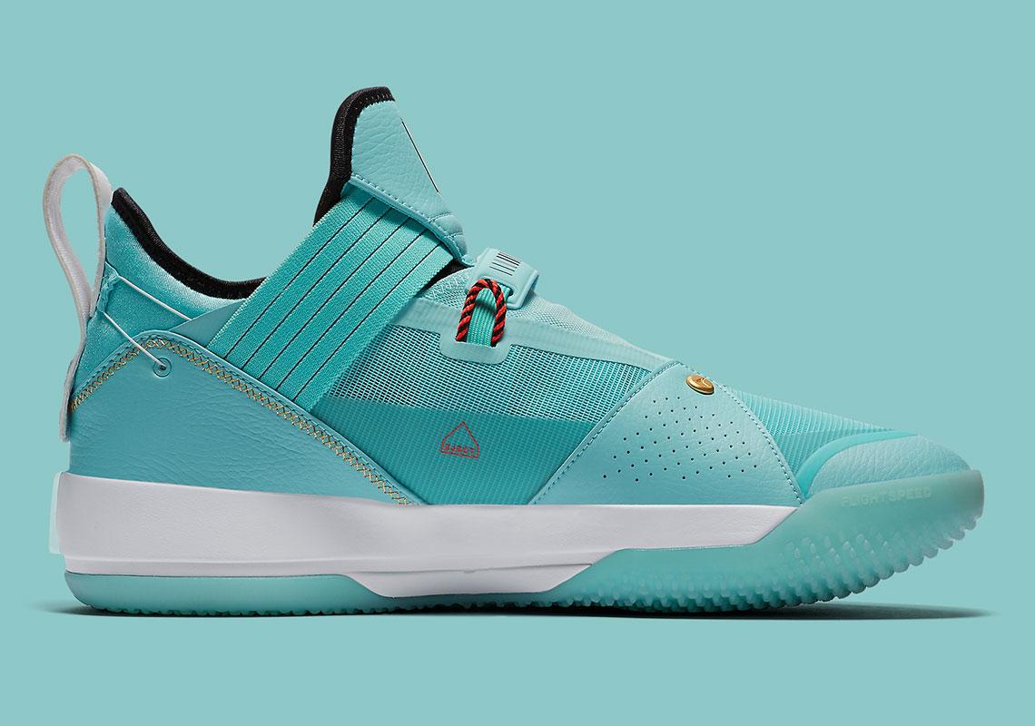 """e71510b0464 Air Jordan 33 Low PE """"Guo Ailun"""" Release Date: April 4th, 2019. Style Code:  CD9561-103. Advertisement"""