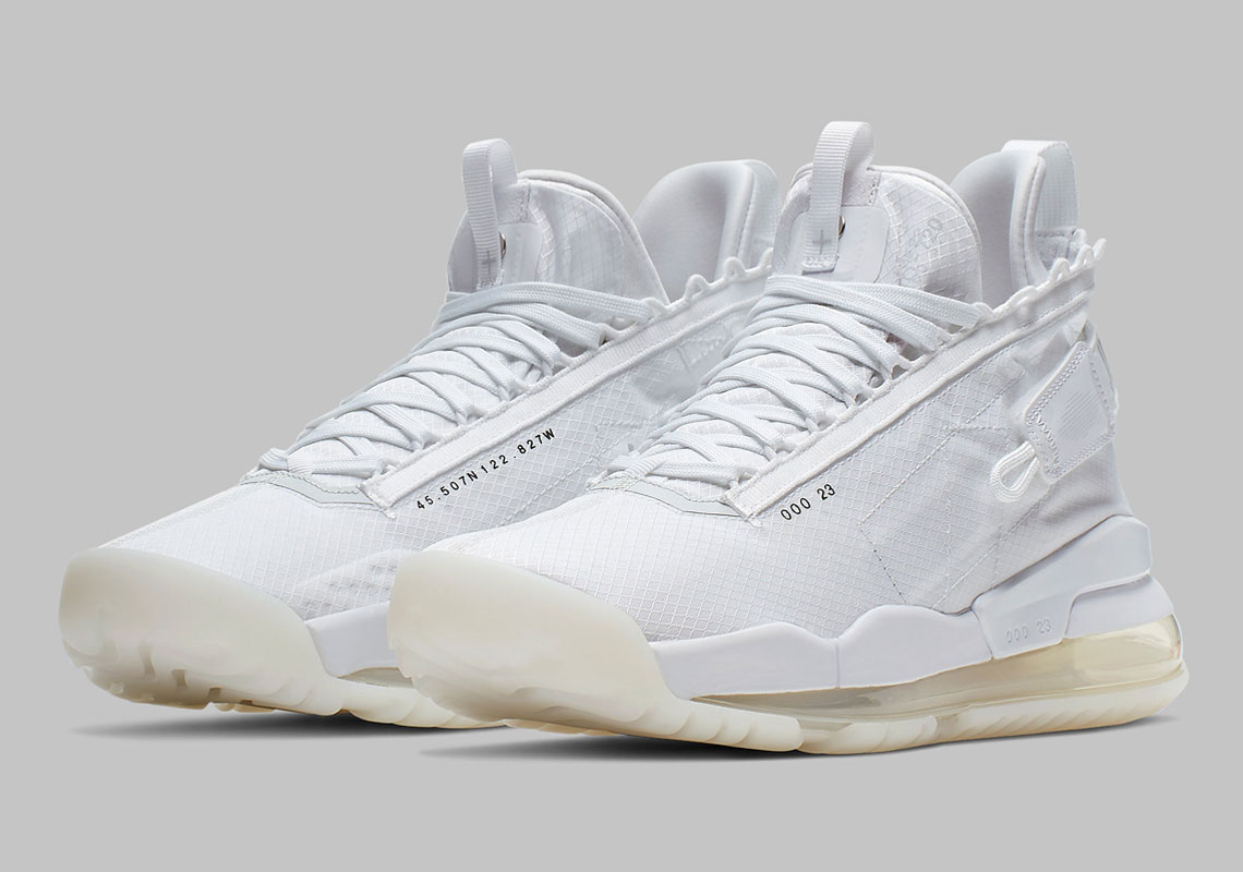 "newest 00741 cec68 The Jordan Proto Max 720 Is Arriving Soon In ""Pure Platinum"""