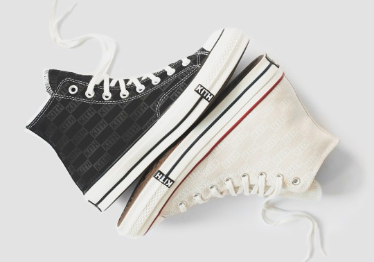 KITH Classics Adds Monogram Prints To The Converse Chuck 70