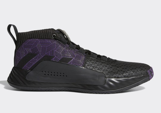 """Where To Buy The Marvel Avengers x adidas Dame 5 """"Black Panther"""""""