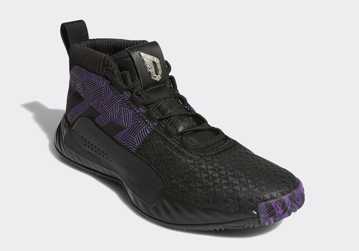 "Where To Buy The Marvel Avengers x adidas Dame 5 ""Black Panther"""
