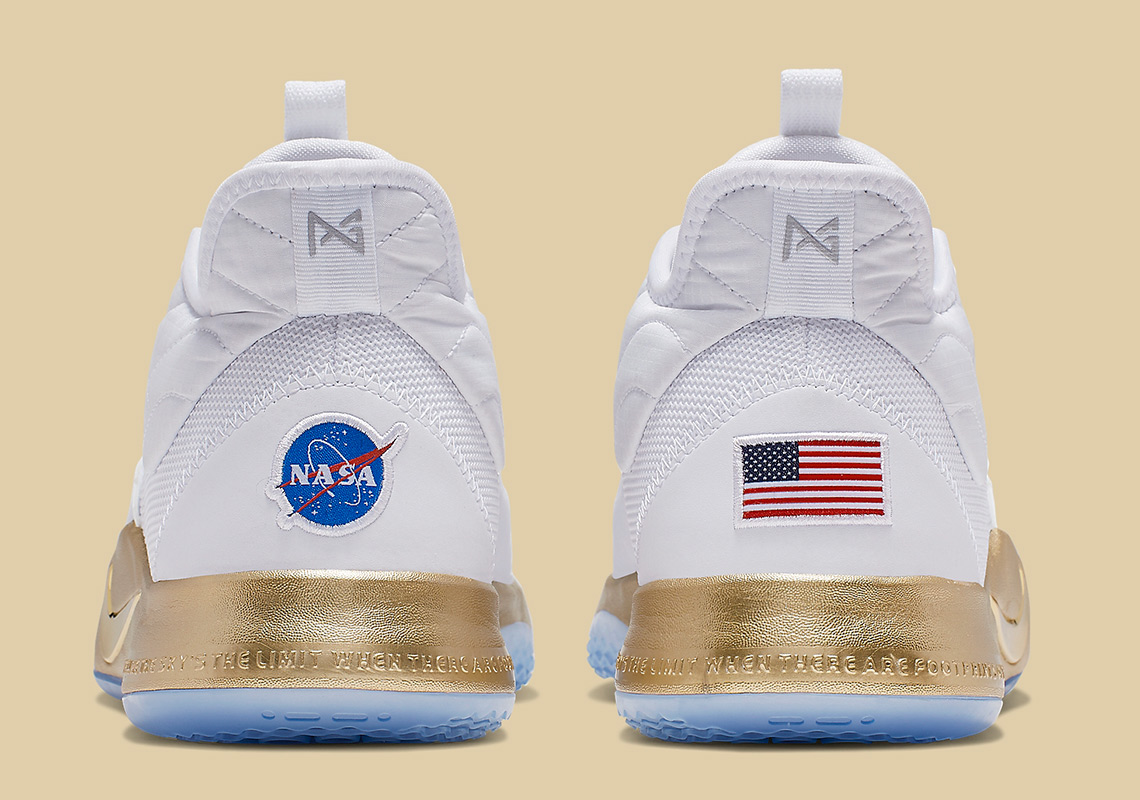 "separation shoes 6bb43 ad7e4 Official Images Of The NASA x Nike PG 3 ""Apollo Missions"""
