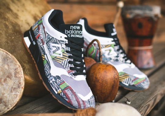 The New Balance 1500 Adds Some Tribal Flair To The Upper