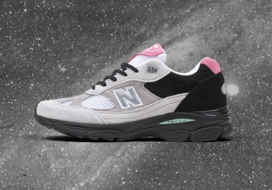 The New Balance 991.9 Made In UK Reveals A New Grey And Pink Pigskin