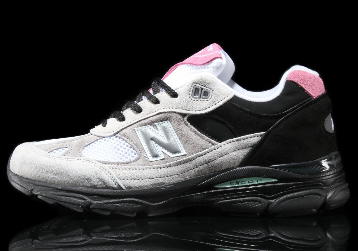 New Balance 991 Made in UK Grey with Pinky Grey