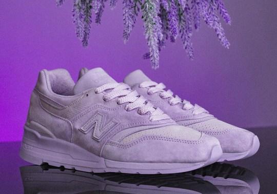 "New Balance 997 ""English Lavender"" Adds Tonal Purple Hue"