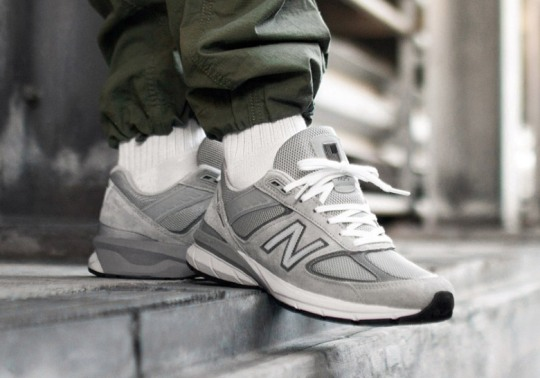 The New Balance 990v5 Debuts On May 5th In Three Colorways