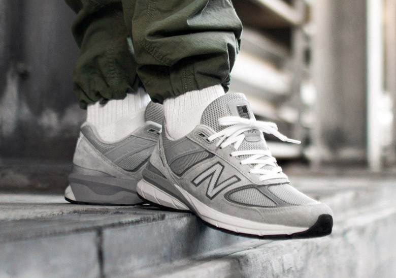 hot sale online baa1e 4fbda New Balance 990 v5 Grey Black Navy Release Info ...