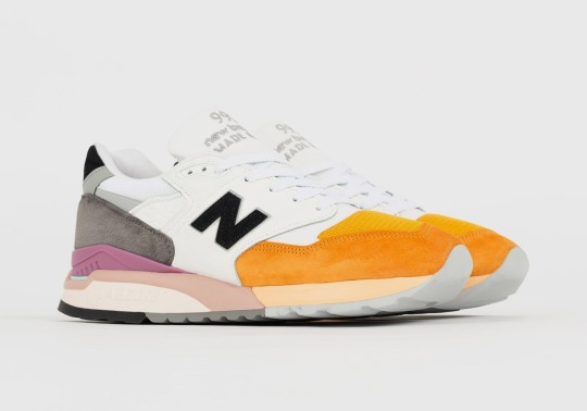 The New Balance 998 Made In USA Adds Citrus Tones