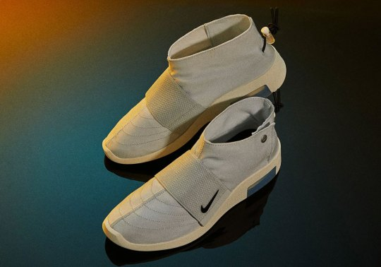 """Where To Buy The Nike Air Fear Of God Moc """"Pure Platinum"""""""