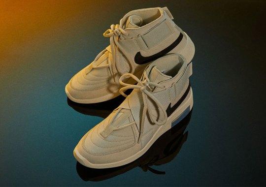 "Where To Buy The Nike Air Fear Of God Raid ""Light Bone"""
