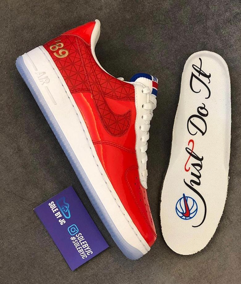 Nike Air Force 1 Low Detroit Pistons 1989 NBA Finals