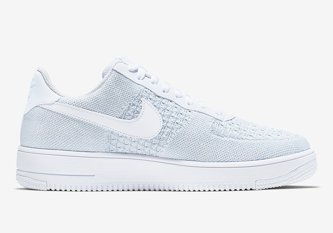 release date: 33e3d a860a Nike Air Force 1 Flyknit 2.0. Release Date  May 1st, 2019  110. Color   White Pure Platinum