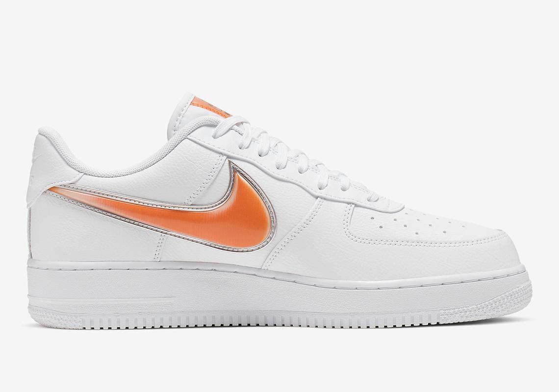 black air force 1 orange tick
