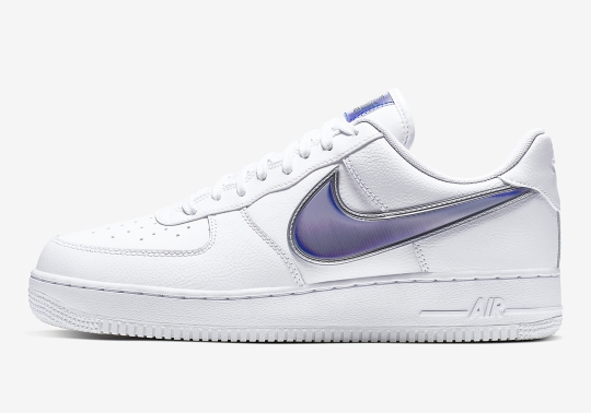 Nike Returns To Oversized Swoosh Logos On The Air Force 1