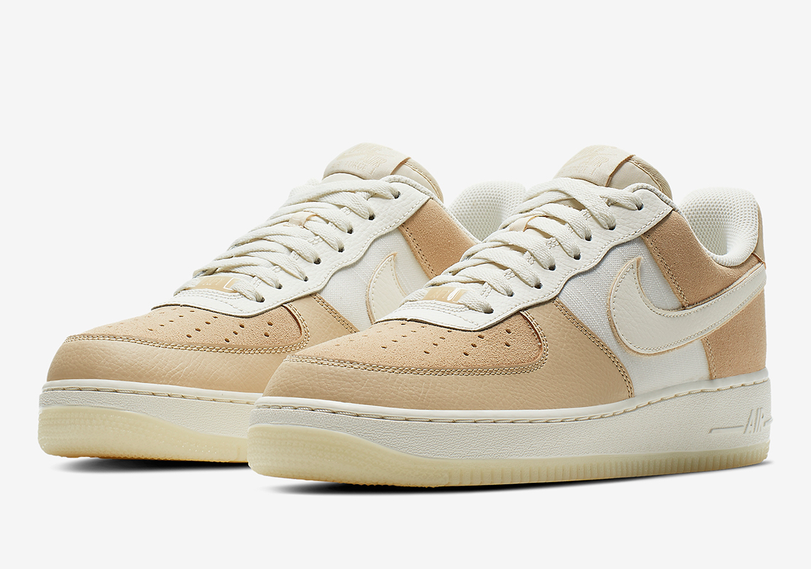 Nike Air Force 1 Low Grey Tan Blue Store List + Info