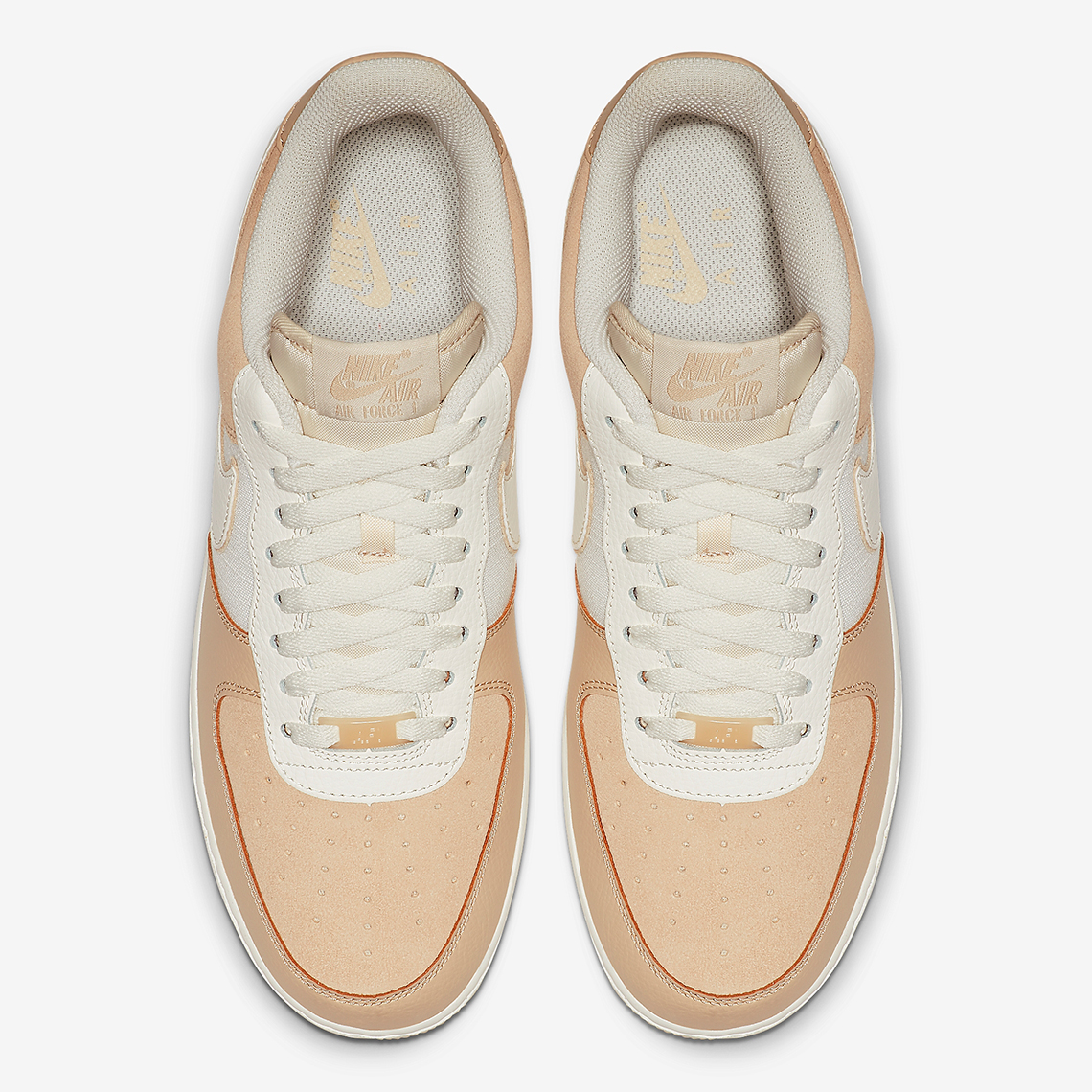 sports shoes 96f83 e19f5 Nike Air Force 1 Low Grey Tan Blue Store List + Info ...
