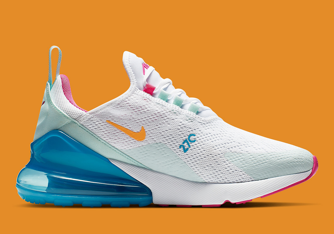 33ba09823f Nike Air Max 270. Release Date: April, 2019 $150. Style Code: CJ0568-100.  Advertisement