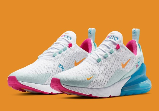 Pastel And Easter Tones Appear On This Nike Air Max 270