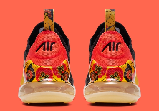 The Nike Air Max 270 Presents New Floral Decor On The Heel