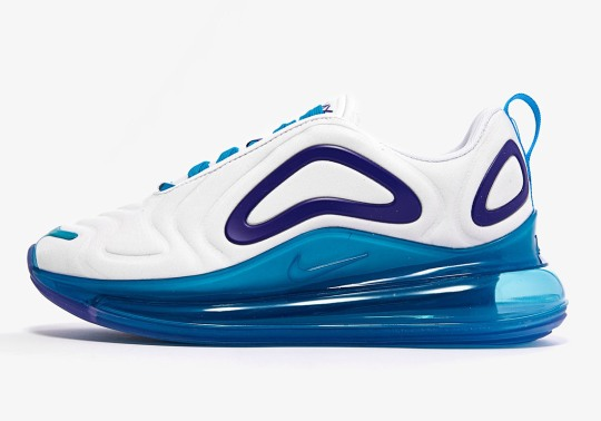 This Newest Nike Air Max 720 Pairs Teal And Purple