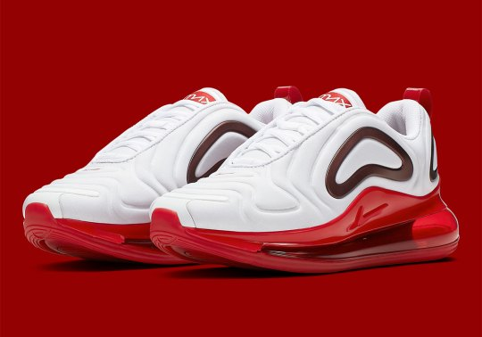 """Nike Air Max 720 """"Gym Red"""" Releases On April 18th"""