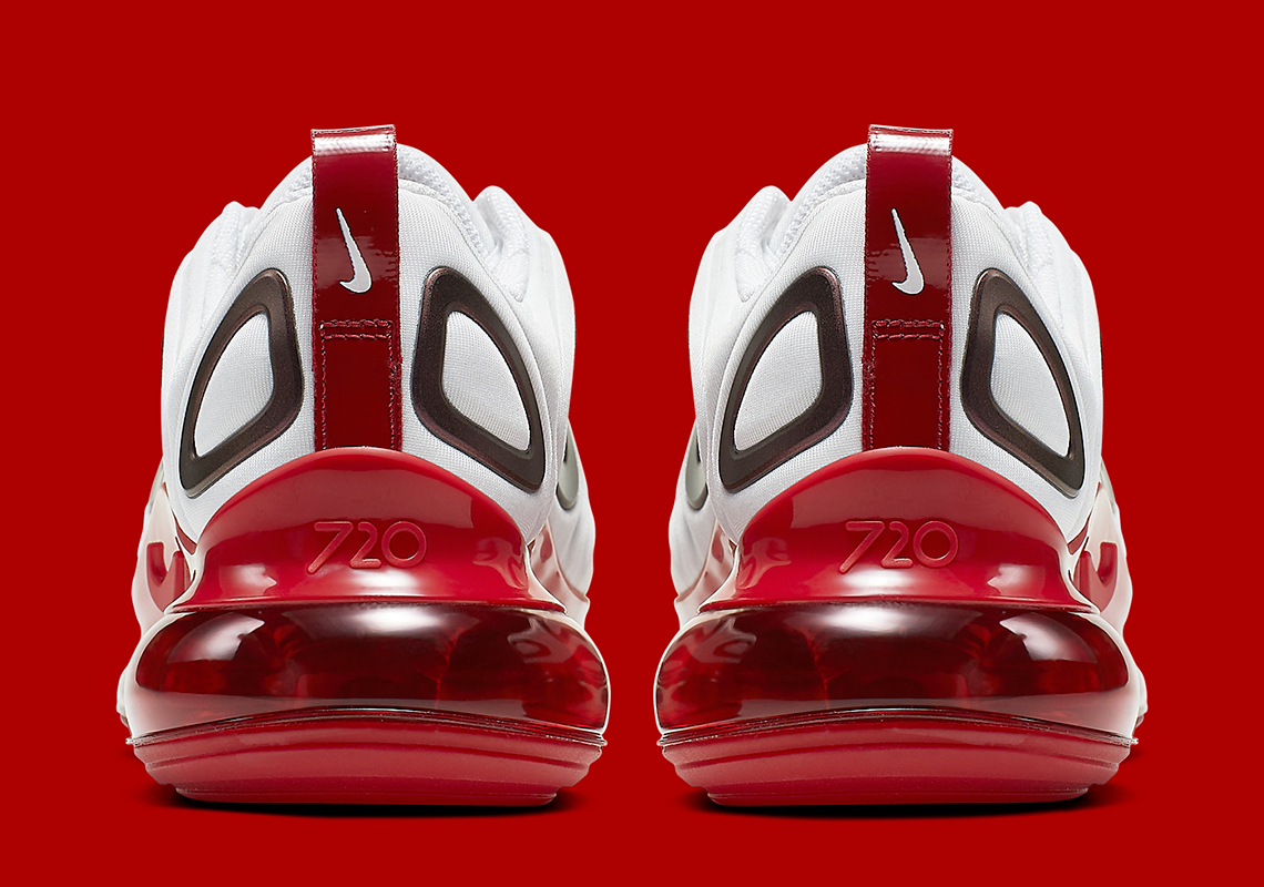 """Nike Air Max 720 """"Gym Red"""" Release Date Confirmed: Official Images"""