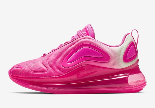 """Nike Air Max 720 """"Laser Fuchsia"""" Is Coming Soon For Girls"""