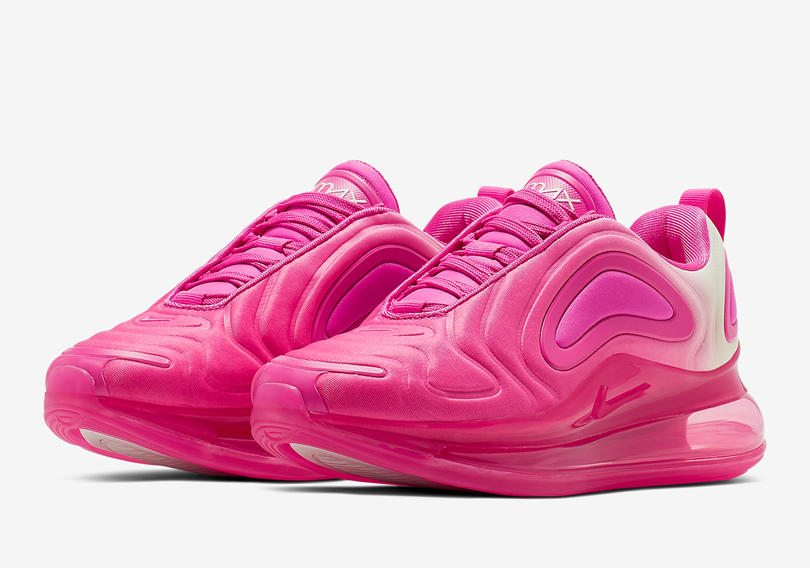 1dd1f0bca4 Nike Air Max 720 Laser Fuchsia AQ3195-601 Info | SneakerNews.com