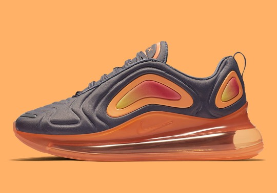 "Nike Air Max 720 ""Fuel Orange"" Is Available Now"