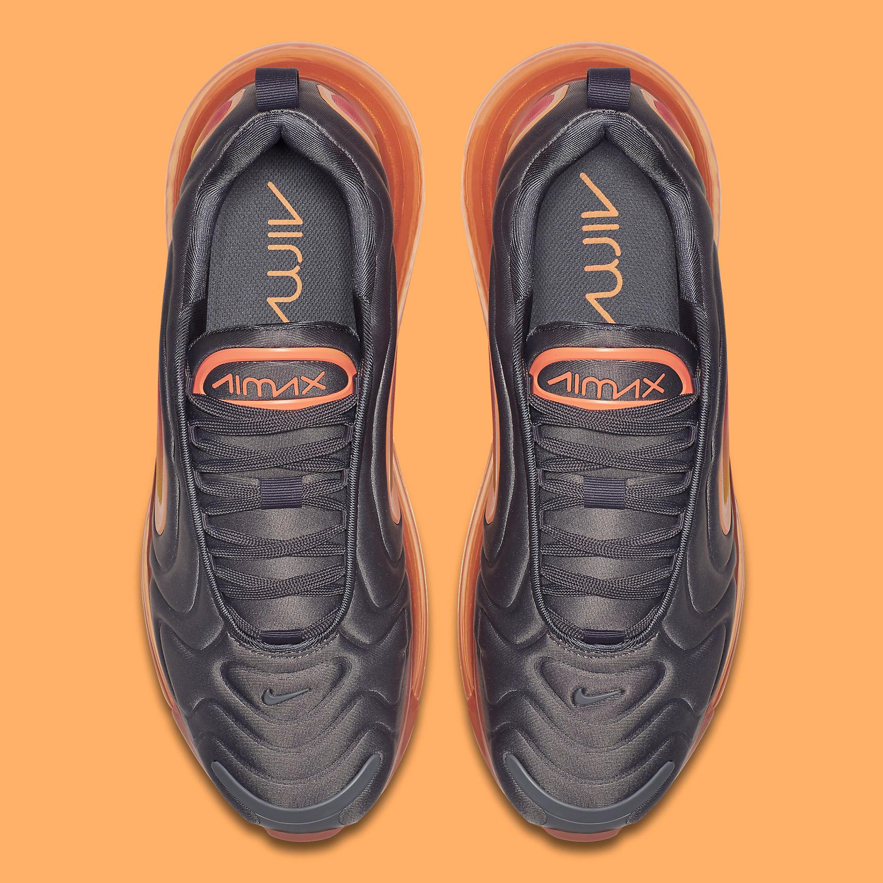 air max 720 black fuel orange