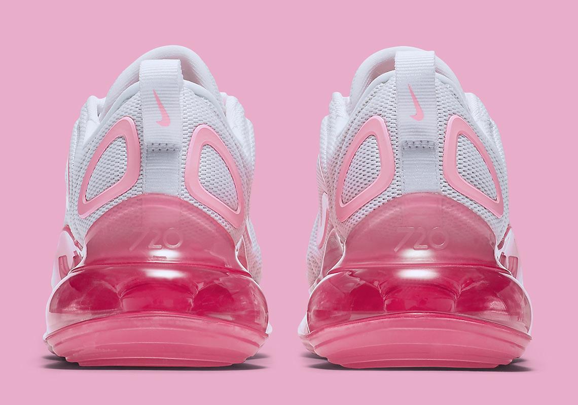 Air Max 720 White Pink Rise Laser Fuchsia (W)