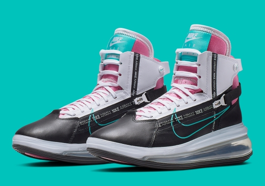 Strong Miami Vibes Return In The Nike Air Max 720 Saturn