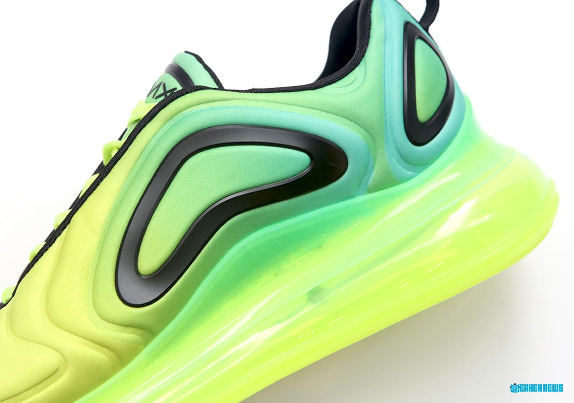 "Nike Air Max 720 ""Volt"" Dropping Next Month: Detailed Photos"