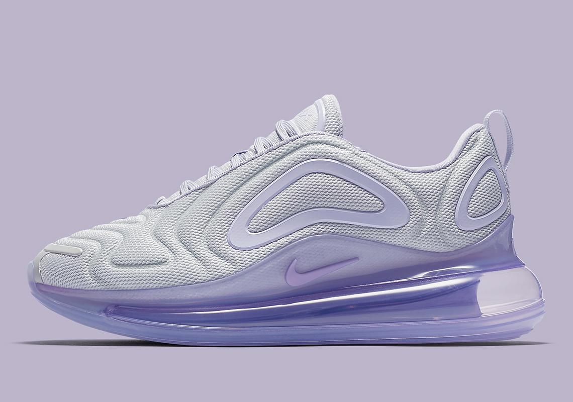 Nike Air Max 720 Women's Platinum Purple AR9293-009 ...