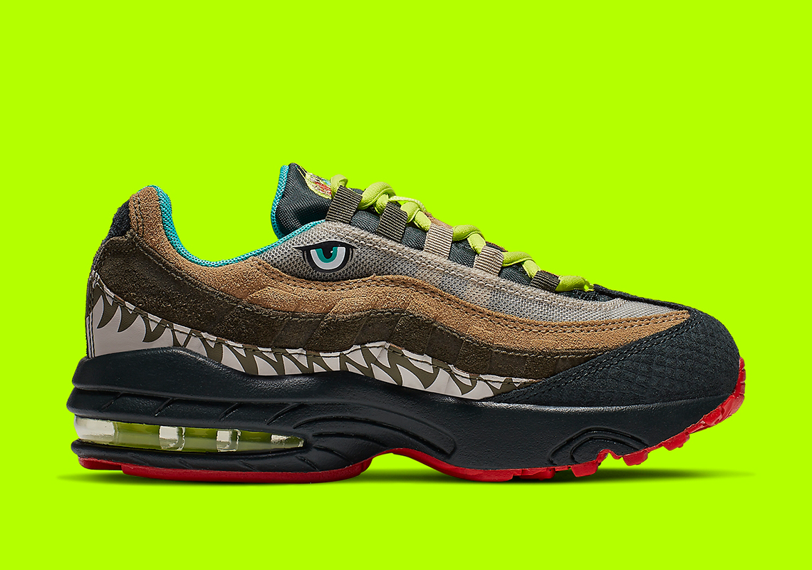 a610956f127c9 Kids Can Wear These Monstrous Nike Air Max 95s