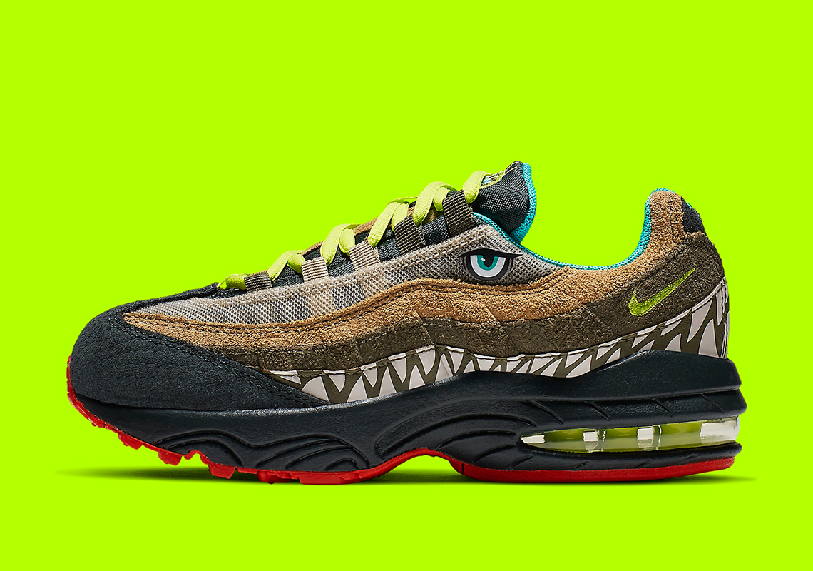 finest selection 8a953 52be4 Kids Can Wear These Monstrous Nike Air Max 95s
