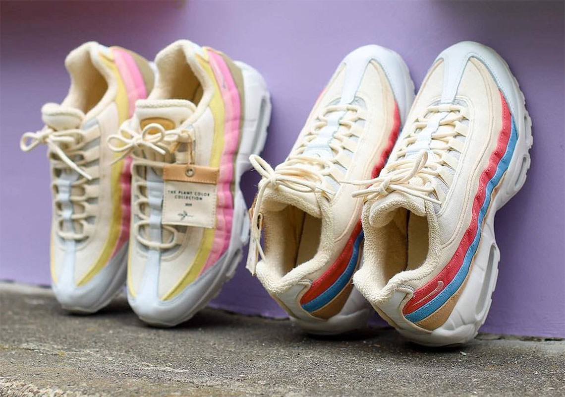 "brand new 117b7 436e9 The Nike Air Max 95 ""Plant Color"" Collection Is Hitting Stores Now"